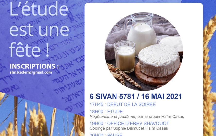 Présenter le programme de Shavouot
